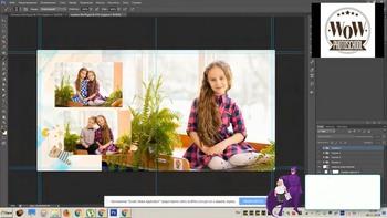 Съёмка в детских садах. Макет и верстка альбома (2018) Вебинар