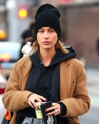 Hailey Baldwin - Out in NYC 2/13/18