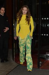 Gigi Hadid - Leaving her hotel in Paris 3/4/19