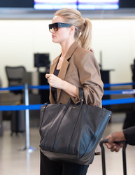 Rosie Huntington-Whiteley - At JFK Airport 9/11/18