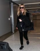 Khloe Kardashian - At LAX Airport 1/28/18