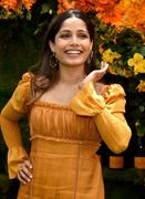 Freida Pinto   -                11th Annual Veuve Clicquot Polo Classic Liberty State Park New Jersey June 2nd 2018.