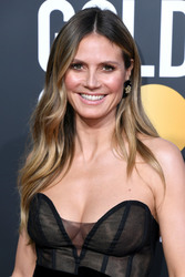 Heidi Klum - 2019 Golden Globe Awards in LA 1/6/19