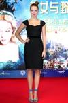 Lea Seydoux at the 'La belle et la bete' press conference during the 2014 Beijing International Film Festival 4/15/14