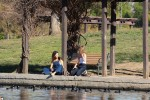 Selena Gomez at Lake Balboa park in Encino 02/02/20183a9925737644343