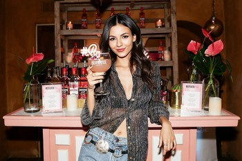 Victoria Justice -        Beefeater Pink Gin Lounge Party Los Angeles April 11th 2019.