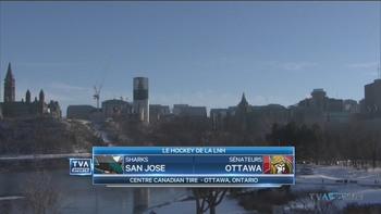 NHL 2018 - RS - San Jose Sharks @ Ottawa Senators - 2018 12 01 - 720p 60fps - French - TVA Sports 3169731050182764