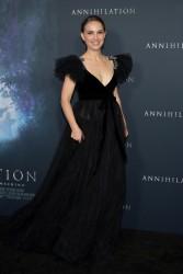 "Natalie Portman - Premiere Of Paramount Pictures' ""Annihilation"" in Westwood 2/13/18"