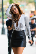 Barbara Palvin -  Arriving at Victoria's Secret Fashion Show Callbacks in NYC 9/5/18