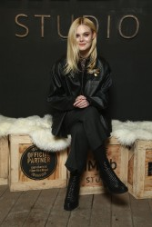 Elle Fanning - IMDb Studio at the 2018 Sundance Film Festival 1/21/18