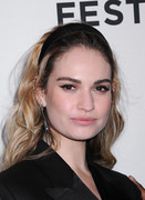 Lily James - 'Little Woods' Premiere at the 2018 Tribeca Film Festival 4/21/18