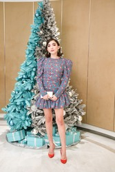 Rowan Blanchard -             Tiffany and Co. celebrate the Holidays with a Girls Night In Los Angeles November 29th 2018.