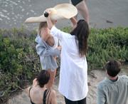 Charlotte McKinney - On set of a photoshoot in Malibu 7/6/18
