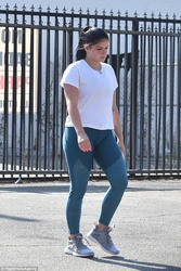 Ariel Winter - Going to the gym in LA 8/2/18