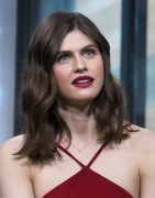Alexandra Daddario -             ''When We First Met'' Discussion AOL Build New York City January 29th 2018.