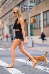 Martha Hunt - Out in NYC 8/6/2018 36734b939877964
