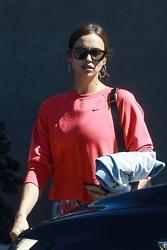 Irina Shayk - Leaving the gym in LA 3/13/19
