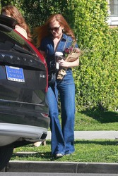 Isla Fisher - Out in Beverly Hills 3/15/18