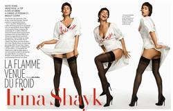 Irina Shayk -  Paris Match, Jan 2019