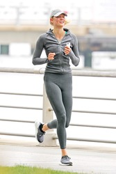 Karlie Kloss - Jogging in NYC 6/9/18