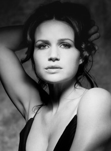 Carla Gugino B&W Shoot HQ