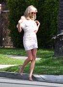 Elsa Hosk - On set of a photoshoot in LA 4/16/18