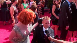 Christina Hendricks at the 63rd Annual Primetime Emmy Awards in LA - September 18, 2011 73022c902571314