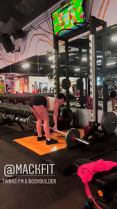 Ariel Winter Working Out at a Gym in Los Angeles - 7/26/18 Instagram Stories