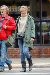 Cameron Diaz - Out in NYC 2/15/19