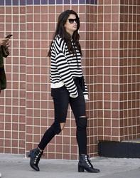 Sara Sampaio - Shopping in Beverly Hills 3/5/18