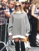Kristen Bell - Arriving at The View in NYC 9/26/18