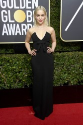 Emilia Clarke - 75th Annual Golden Globe Awards in Beverly Hills 1/7/18