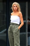 Charlotte McKinney - On set of a photoshoot in NYC 9/13/18