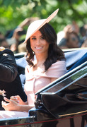 Meghan Markle - The annual Trooping The Colour ceremony in London 6/9/18