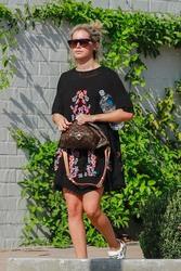 Ashley Tisdale - Leaving the spa in LA 8/26/18