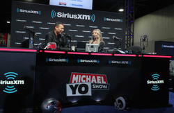 Sarah Michelle Gellar - SiriusXM at Super Bowl LIII Radio Row in Atlanta Georgia 2/1/19