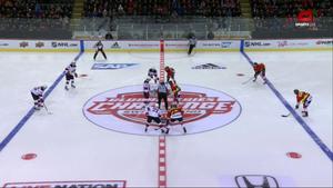 NHL Global Series Challenge 2018-10-01 New Jersey Devils vs. SC Bern - French Faea60990003564
