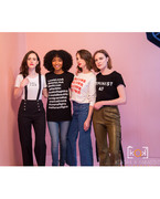 "Alison Brie - Behind the Scenes for ""The Wrap"" (ft. Evan Rachel Wood, Yara Shahidi, and Rachel Brosnahan)"