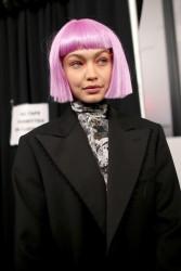 Gigi Hadid - Jeremy Scott Fashion Show in NYC 2/8/18