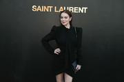 Lindsay Lohan - Saint Laurent Fashion Show in Paris 9/25/2018 3a612e985772694