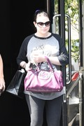 Michelle Trachtenberg - Shopping in Beverly Hills 6/14/18