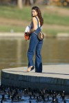 Selena Gomez at Lake Balboa park in Encino 02/02/2018e79ab7737639453