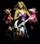 Kylie Minogue -                 ''The Muppets Take The O2'' The O2 Arena London July 13th 2018.