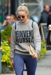 Gigi Hadid - Out & About in NYC| October 21st, 2014