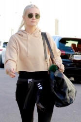 Ashlee Simpson - Going to the gym in Studio City 2/2/18