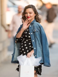 Miranda Kerr - Visiting Jimmy Kimmel Live in Hollywood 2/6/18