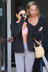 Vanessa Hudgens - Leaving the gym in LA 8/14/18