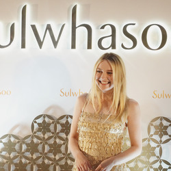 Dakota Fanning - Sulwhasoo Exhibition opening ceremony in Hong Kong 8/29/18