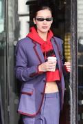 Bella Hadid - Out in Paris 2/26/18