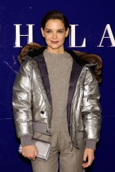 Katie Holmes - Ralph Lauren Fashion Show in NYC 2/12/18
